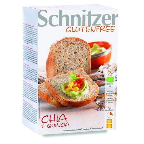 Chleb z chia z pełnoziarnistą mąką quinoa bezglutenowy BIO 500 g Schnitzer (4022993045253)