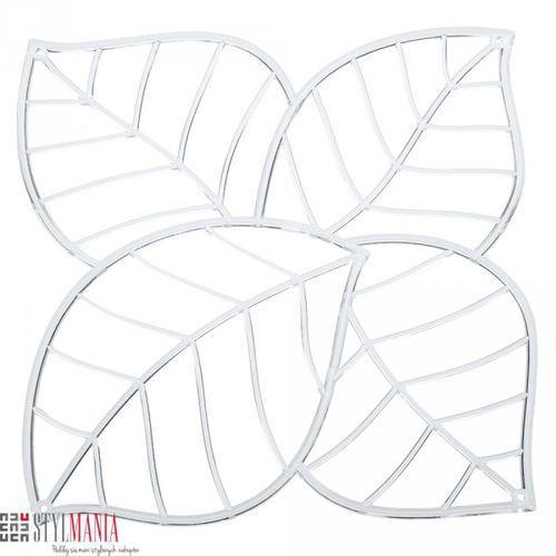 Panel dekoracyjny  Leaf liście transparentny 4 szt. KZ-2043535, Koziol z stylmania