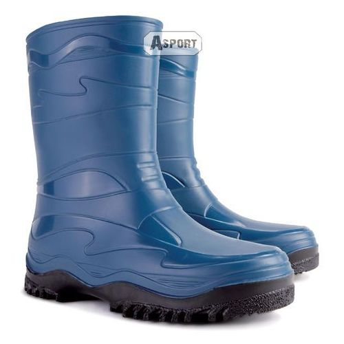 Buty gumowe, kalosze damskie/młodzieżowe YOUNG niebieskie , Demar z Asport.pl -  Sklep Sportowy