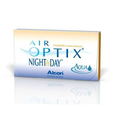 Air optix night&day aqua - 3 sztuki wybrane moce (bc:8,4) marki Alcon