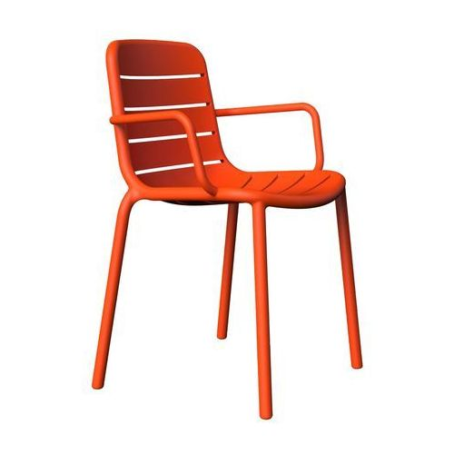 Resol Krzesło z tworzywa sztucznego gina z podłokietnikami