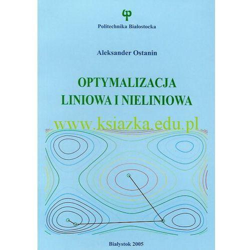 Optymalizacja liniowa i nieliniowa, Ostanin Aleksander