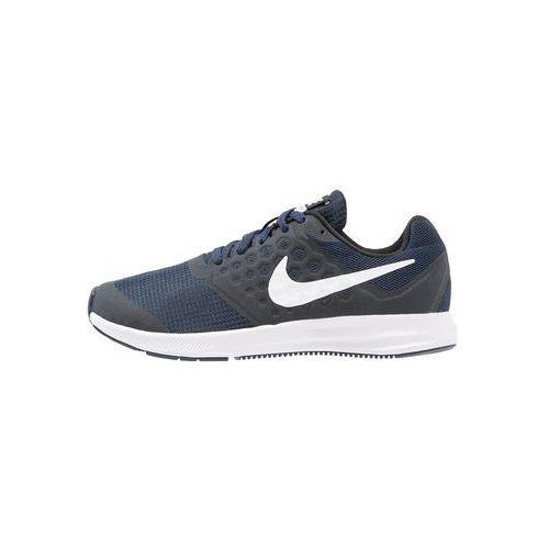 Nike Performance DOWNSHIFTER 7 Obuwie do biegania treningowe navy/white/dark obsidian/black, 869969