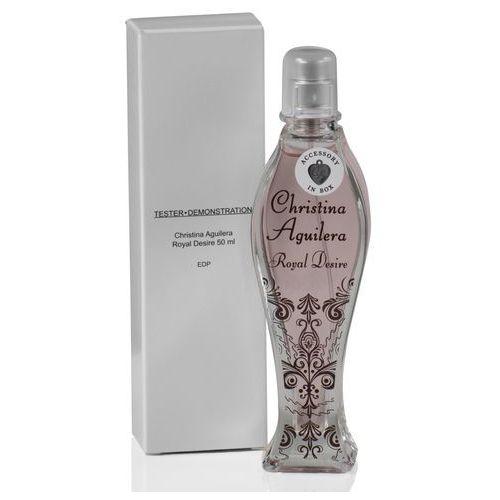 Christina aguilera royal desire, woda perfumowana - tester, 50ml