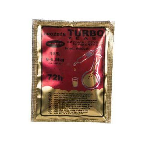 Drożdże gorzelnicze Biowin Turbo 72h, 120 g - z kategorii- pozostałe akcesoria do alkoholu
