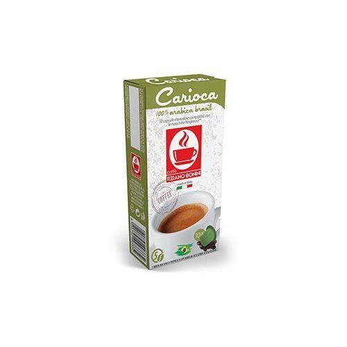 Kapsułki do nespresso* karioka/carioca 10 kapsułek - do 12% rabatu przy większych zakupach oraz darmowa dostawa marki Caffe bonini