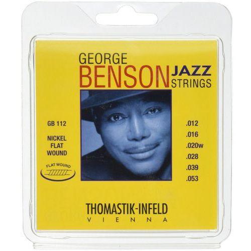 Thomastik GB112 Jazz struny do gitary elektrycznej 12-53