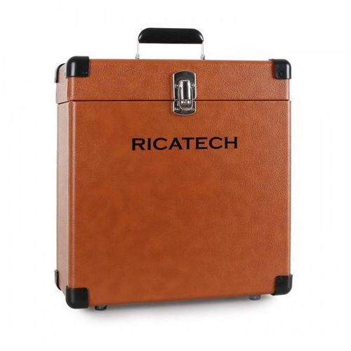 Walizka na płyty rc0042 brązowa marki Ricatech