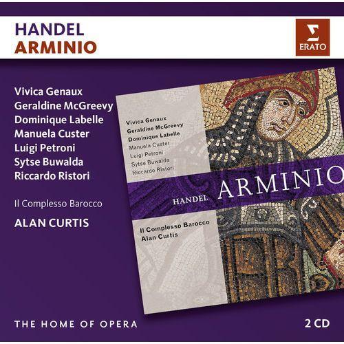 Warner music Handel: arminio - il complesso barocco, alan curtis (płyta cd)