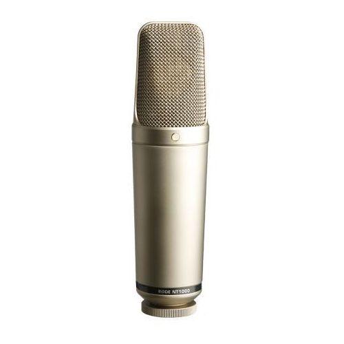 """RODE NT1000 - studyjny mikrofon pojemnościowy -5% na pierwsze zakupy z kodem """"START""""! (0698813000067)"""