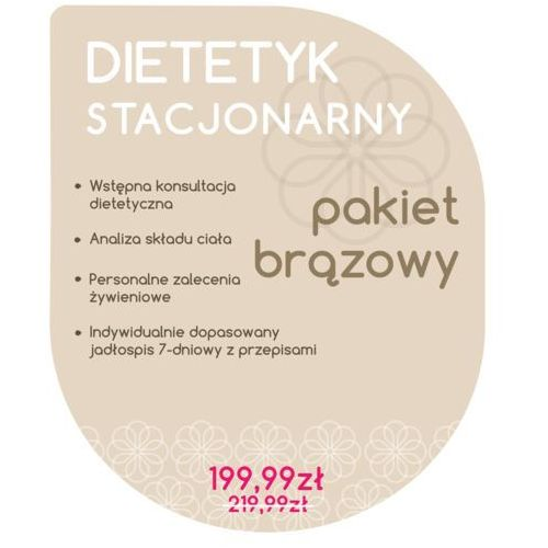 Dietetyk Stacjonarny - Pakiet Brązowy