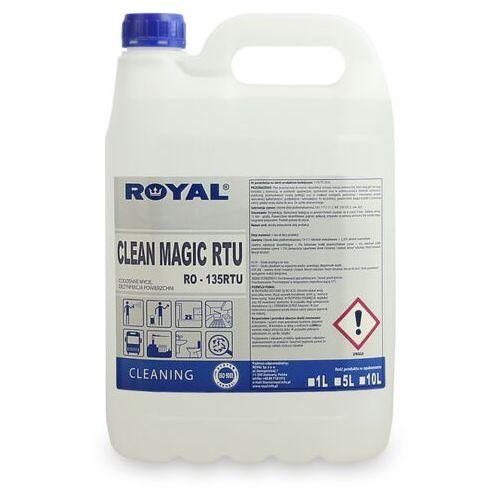Clean magic rtu 5 l odkażający płyn do ścian, podłóg i powierzchni płyn do odkazania powierzchni, odkazanie scian, dezynfekcja podlog, marki Royal