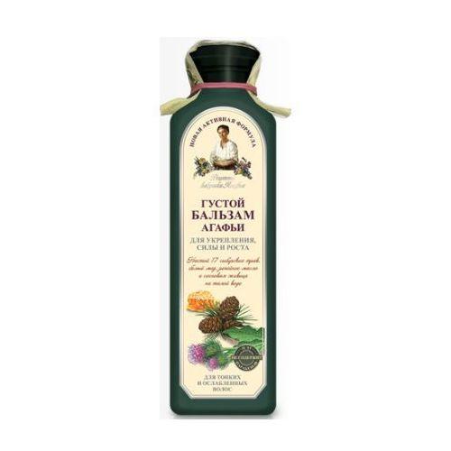 Babuszka Agafia Gęsty balsam wzmacniający do włosów cienkich i łamliwych 350ml, BIOSFERA