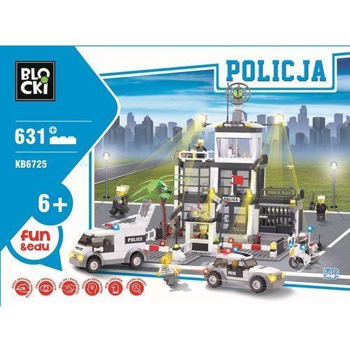 Klocki duży posterunek policji policja 631el pojazdy, 4862, Klocki-blocki