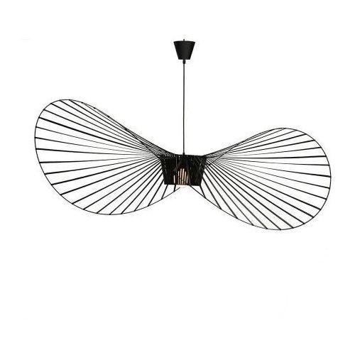 Lampa Capello z wygiętym kloszem insp. Vertigo