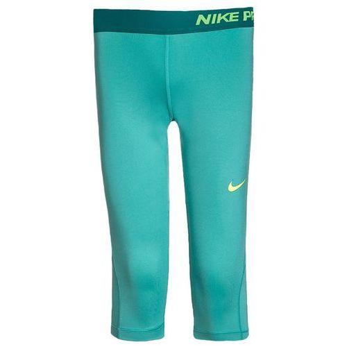 Nike Performance PRO DRY Legginsy hyper jade/rio teal/volt - produkt z kategorii- legginsy dla dzieci