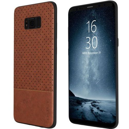 Qult Etui back case drop do samsung galaxy s8 brązowy
