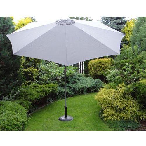 Parasol ogrodowy 300 cm ciemno-szary, Bello Giardino z Meblobranie.pl