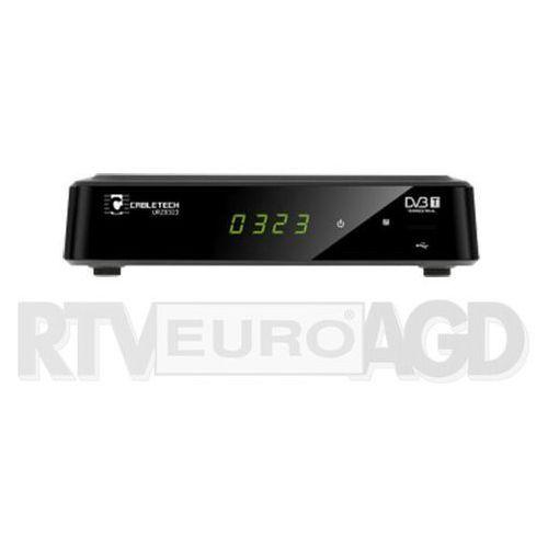 Tuner TV Cabletech DVB-T2 HD USB HDMI SCART (URZ0323) Szybka dostawa! Darmowy odbiór w 20 miastach!, 384434