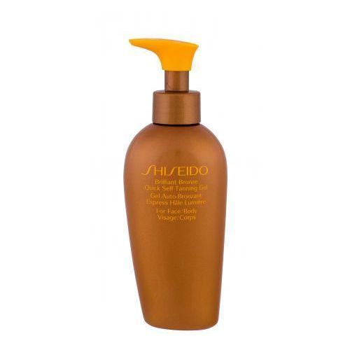 brilliant bronze quick self-tanning gel samoopalacz 150 ml dla kobiet marki Shiseido