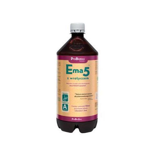Ema5 z wrotyczem - 1 litr (eko środek na pędraki, opuchlaki, drutowce, itp.) Naturalny ekologiczny środek na pędraki