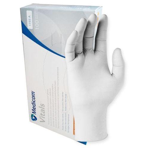 Rękawiczki Medicom lateksowe XS lekko pudrowane standard 100szt/opak. SafeTouch Connect