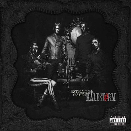 Warner music / roadrunner records Halestorm - strange case of..,the