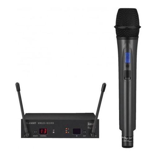 Bezprzewodowy zestaw mikrofonowy txs-616set marki Monacor