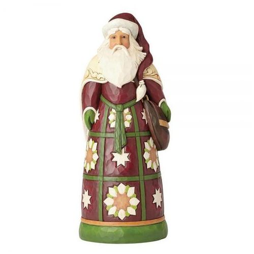 Ogromny mikołaj 49,5 cm santa statue 4059403 figurka ozdoba świąteczna marki Jim shore