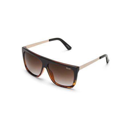 Okulary Słoneczne Quay Australia QC-000273 OTL II TORTFD/BRN, kolor żółty