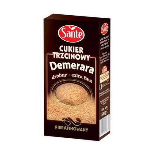 Sante Cukier trzcinowy drobny nierafinowany demerara 500 g