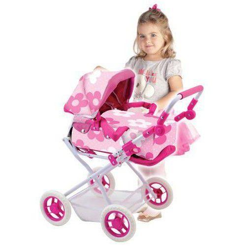 Wózek dla lalek Bambolina Orlando mały ze sklepu www.cud.pl