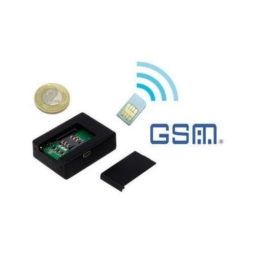 Mini-Podsłuch GSM (zasięg cały świat!!): Budynku, Pojazdu, Osób... + Powiadomienie Na Tel. (VOX).