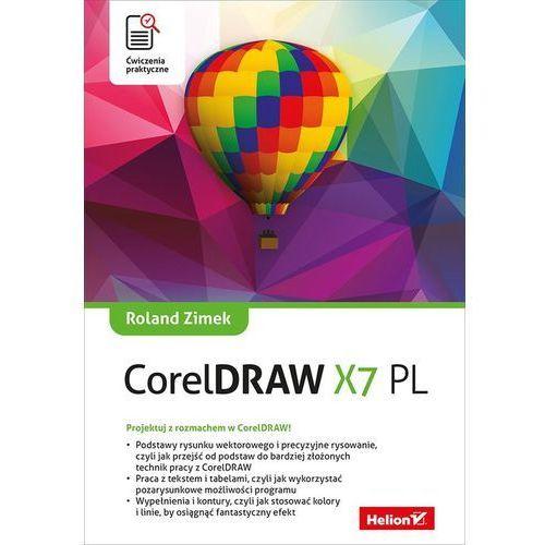 CorelDRAW X7 PL. Ćwiczenia praktyczne, oprawa miękka