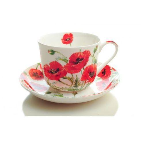 Heritage Duża filiżanka do herbaty angielska porcelana maki