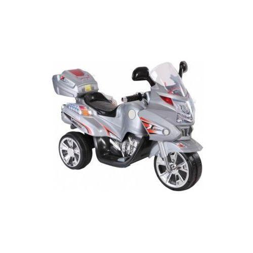 Motocykl motor na akumulator szary dla malucha od 3 do 7 lat EB557GR 8090184 (motor zabawka) od dzieckoity24.pl