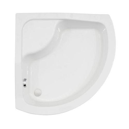 Wellneo Brodzik do kabiny prysznicowej wysoki previa 90 x 90 cm
