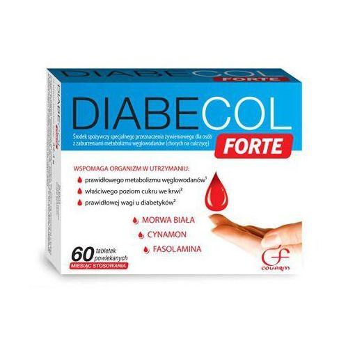 Diabecol forte - Colfarm - 60 tabletek - dla cukrzyków z kategorii Pozostałe zdrowie