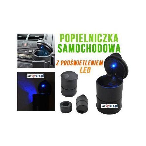Popielniczka Samochodowa + Podświetlenie LED., 59077734151082