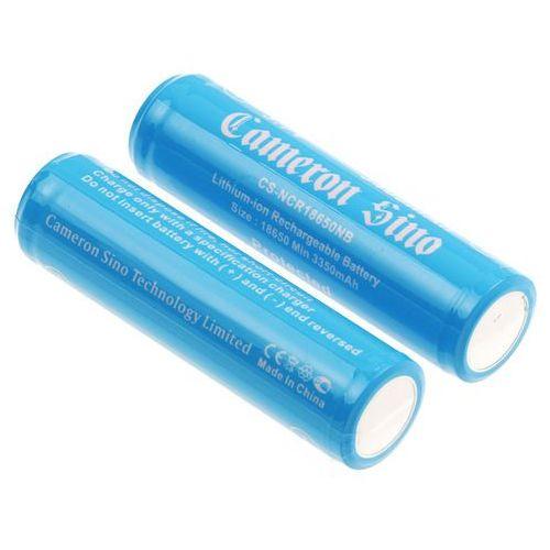 2x akumulator 18650 3400mAh 12.58Wh Li-Ion 3.7V z zabezpieczeniem PCM ogniwo Panasonic NCR18650B (Cameron Sino) (4894128117339)