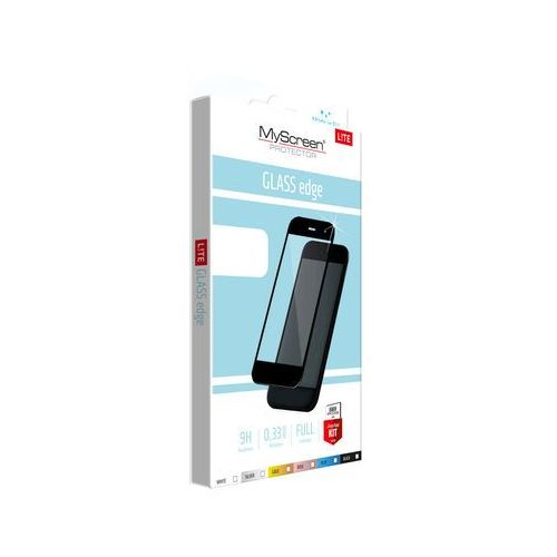 Szkło MYSCREEN PROTECTOR Lite Edge do Apple iPhone 7/8 Czarny (5901924942184)