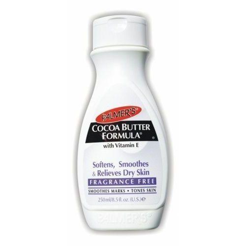 cocoa butter formula bezzapachowy nawilżający balsam do ciała 250ml marki Palmers