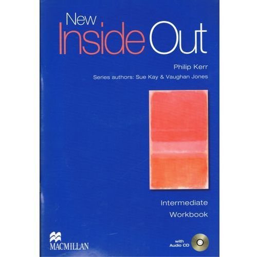 New Inside Out Angielski część 4 ćwiczenia bez klucza + audio CD Intermediate, oprawa broszurowa