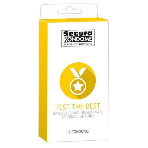 Prezerwatywy Secura Test the Best 12 szt. 433056 (4024144433056)