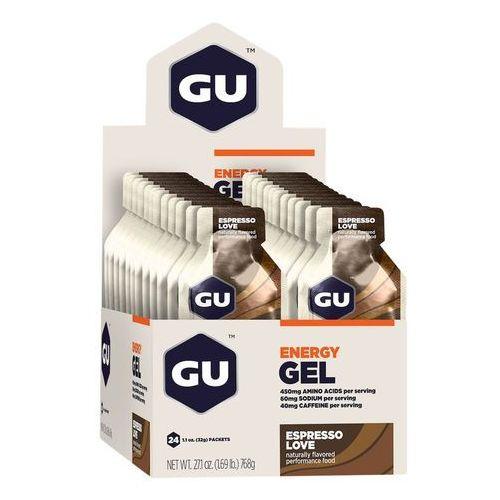 GU Energy Gel Żywność dla sportowców Espresso Love 24 x 32g 2018 Batony i żele energetyczne (0769493200082)