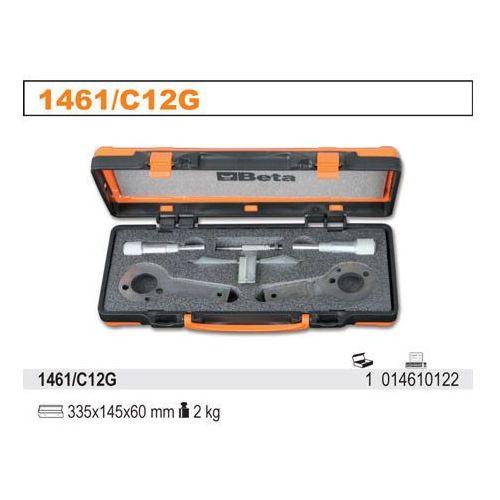 Zestaw narzędzi do blokowania i ustawiania układu rozrządu w silnikach diesla fiat/alfa/lancia, model 1461/c12g marki Beta