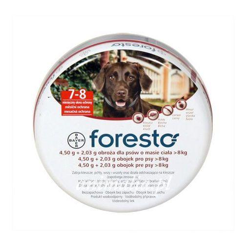 BAYER Foresto obroża przeciw pchłom i kleszczom dla psów 70cm ze sklepu Fionka.pl
