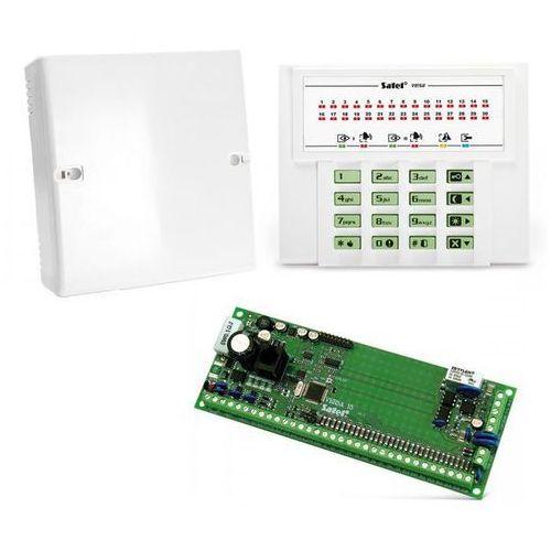 Satel Komplet: centrala alarmowa versa 15, manipulator versa-led-gr, obudowa opu-4 p (bez transformatora)