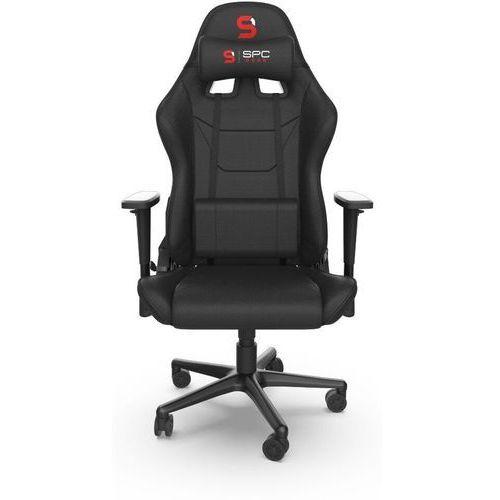 Spc gear Fotel dla graczy sr300f v2 czarny spg037 (5903018660998)
