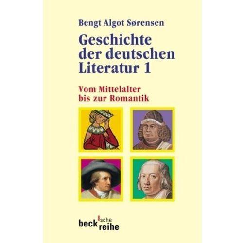 Geschichte der deutschen Literatur. Bd.1 (9783406628450)